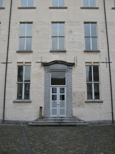 Leuven Naamsestraat 69-71 College van de Hoge Heuvel binnenplein