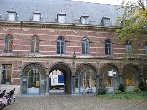 Leuven Naamsestraat 80 Oostvleugel