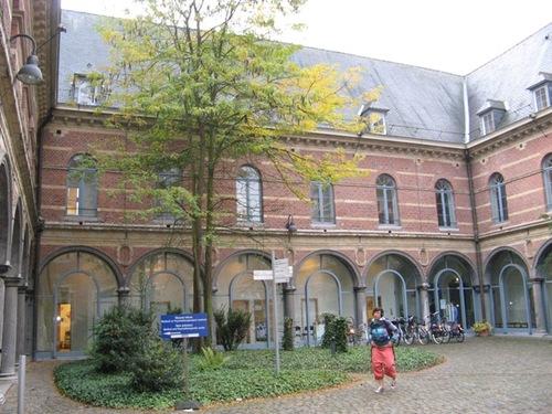 Leuven Naamsestraat 80 Zuidvleugel