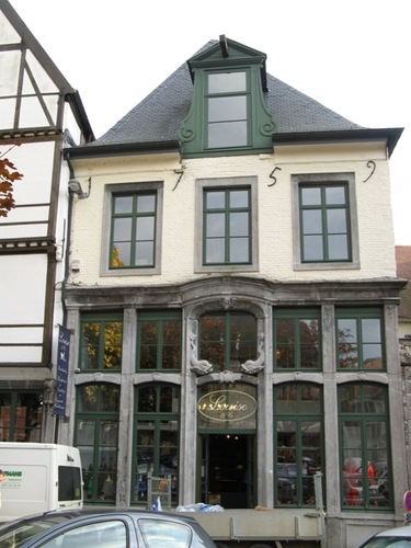 Leuven Vismarkt 4, Busleidengang 1A