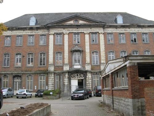 Leuven Vaartstraat 30-32 gebouw binnenkoer