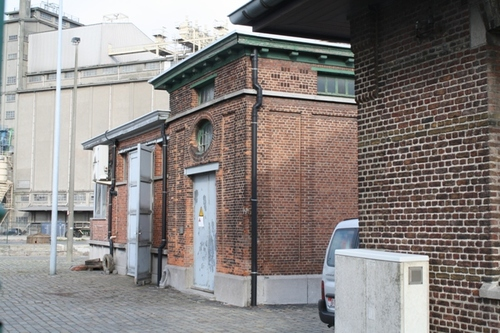 Antwerpen Royerssluis zonder nummer  Dienstgebouw