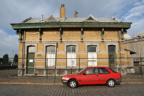 Antwerpen Royerssluis zonder nummer Sluiswachtershuis