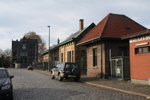 Antwerpen Royerssluis zonder nummer Dienstgebouwen bij Royersluis