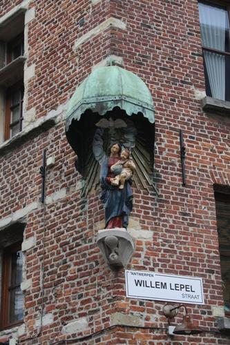 Antwerpen Kloosterstraat 155 157 beeld