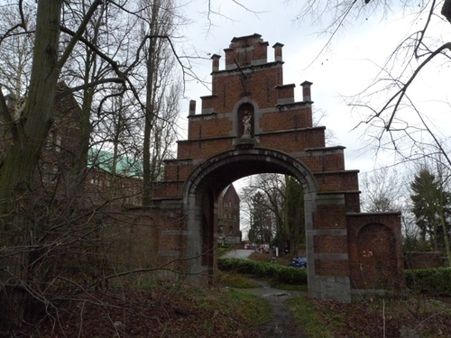 Leuven Mechelsestraat 202 ingangspoort 1936