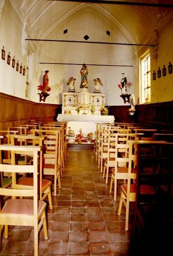 Laarne Kapellestraat zonder nummer Interieur van de kapel