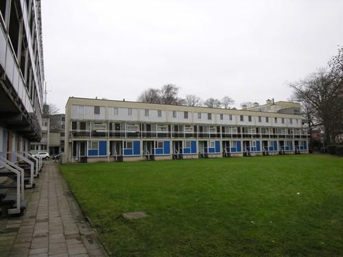 Antwerpen  Jos Van Geellaan 62 zijde binnenplein