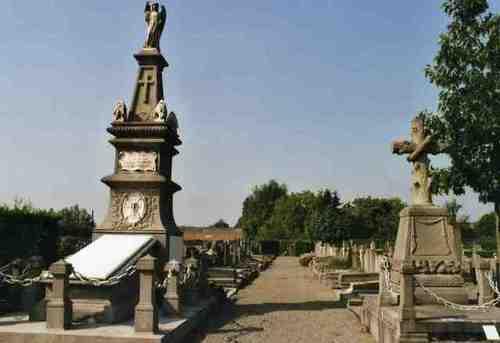 Hamme Driegotenkouter zonder nummer begraafplaats