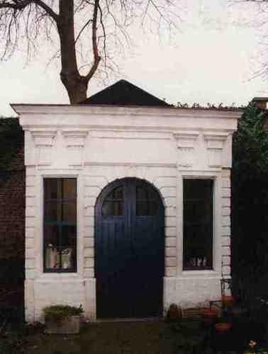 Dendermonde Kerkstraat 6 Tuinhuisje