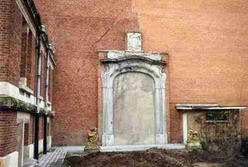 Dendermonde Kerkstraat 20-22 18e poort