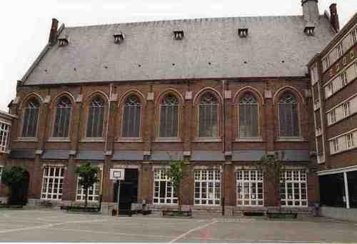 Dendermonde Kerkstraat 60 Kapel zuidgevel