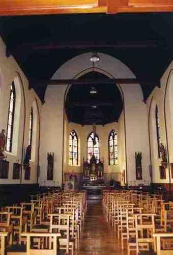 Dendermonde Kerkstraat 97 Interieur van de kapel