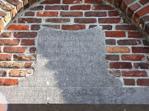Ardooie Izegemsestraat zonder nummer kapel bij nummer 119 detail
