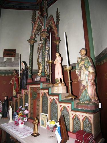 Ardooie Onze-Lieve-Vrouwstraat zonder nummer interieur van de kapel