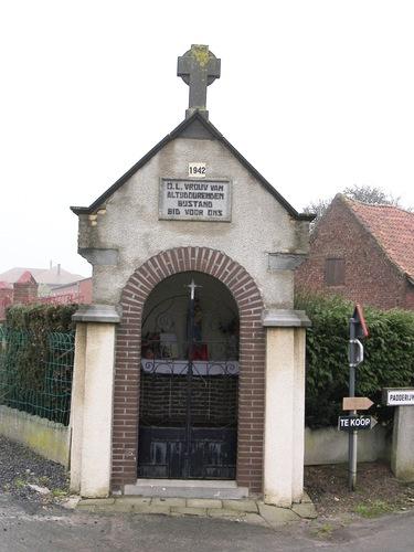 Ardooie Laagstraat zonder nummer kapel bij nummer 10