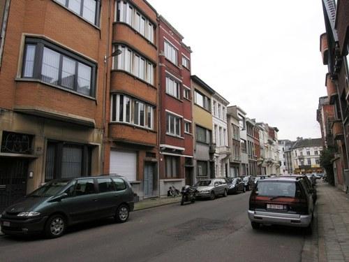 Antwerpen Admiraal de Boisotstraat Oneven zijde