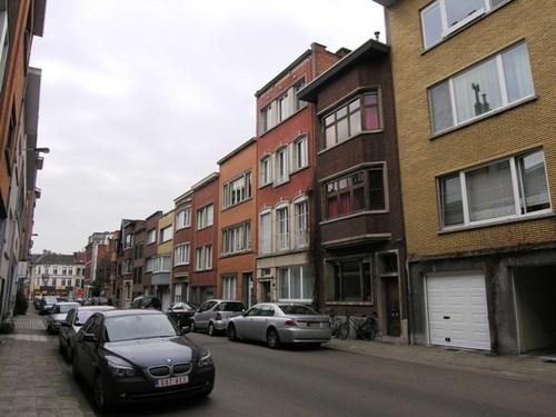 Antwerpen Admiraal de Boisotstraat Even zijde