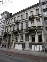 Neoclassicistische burgerhuizen, architectenwoning Frans Reusens