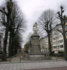 Standbeeld van Quinten Matsijs