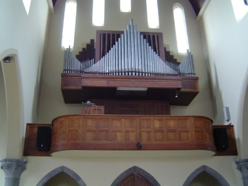Izegem Roeselaarsestraat 55 Orgel in de parochiekerk Heilig Hart