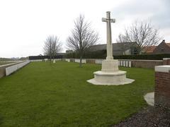 Britse militaire begraafplaats Seaforth Cemetery, Cheddar Villa
