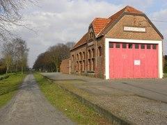 Station Langemark en stationschefwoning