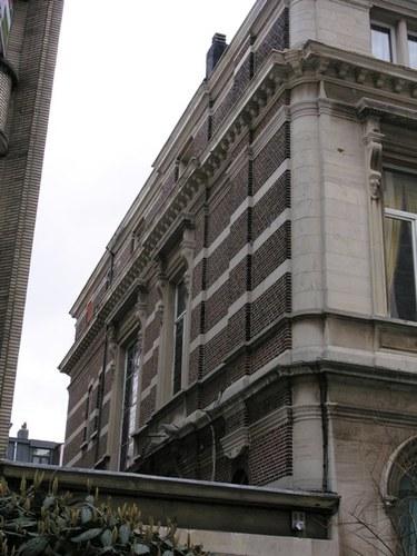 Antwerpen Beeldhouwersstraat 5 Zijgevel