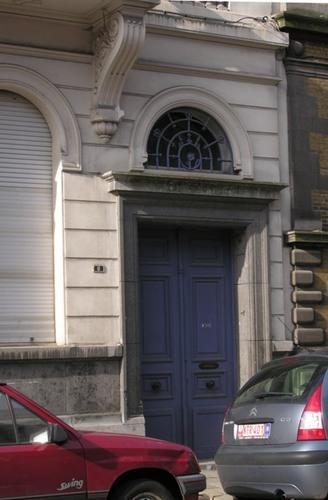 Antwerpen Bouwmeestersstraat 7 Schildersstraat 8