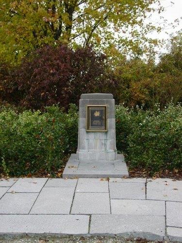 Passendale: Canadalaan: Canadees gedenkteken: registerkastje