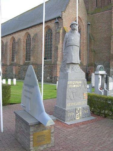 Heuvelland Planciusplein zonder nummer Gedenktekens