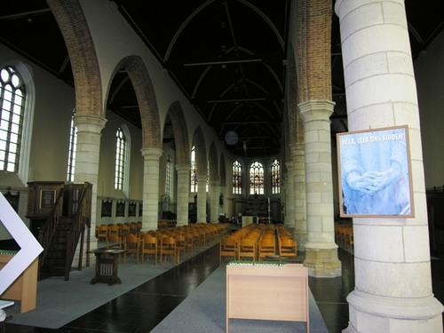 Heuvelland Planciusplein zonder nummer Interieur van de kerk