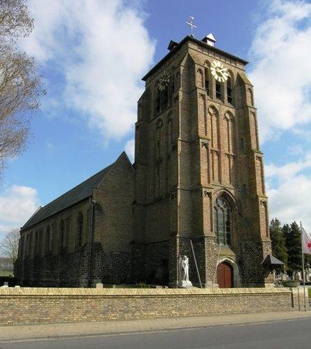 Ieper Zillebeke Zillebeke-Dorp 7 Parochiekerk Sint-Catharina