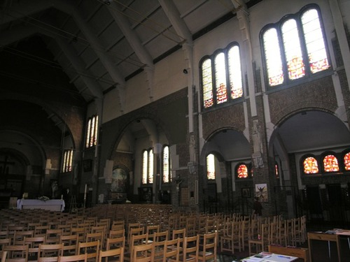 Zonnebeke Ieperstraat znr kerk