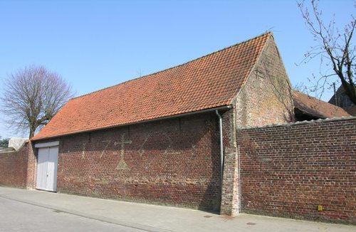 Poperinge Bruggestraat 14 gevel Komstraat