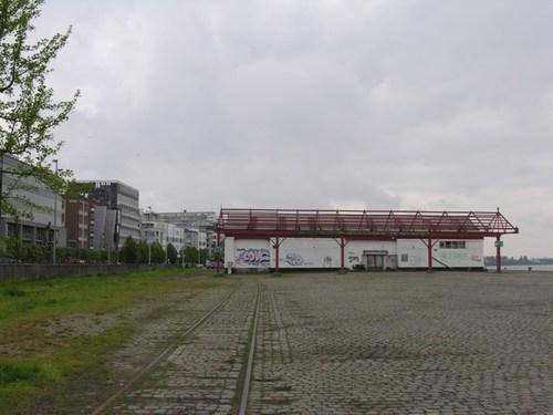 Antwerpen Cockerillkaai loodsen