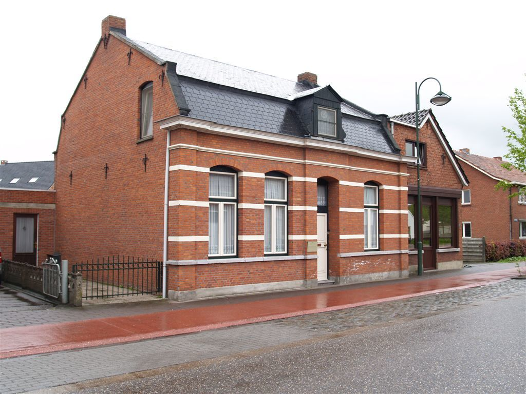 Kunstenaarswoning oud huis ceelen erfgoedobjecten inventaris onroerend erfgoed - Huis verlenging oud huis ...
