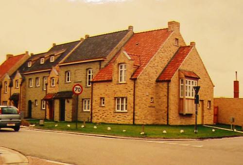Waregem Blauwe-Zwaanstraat herberg nieuwbouw