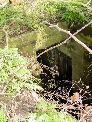 Beselare: Wervikstraat: Duitse bunker: toegang