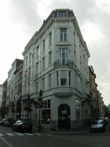 Antwerpen Kasteelstraat 6-4 Hoek