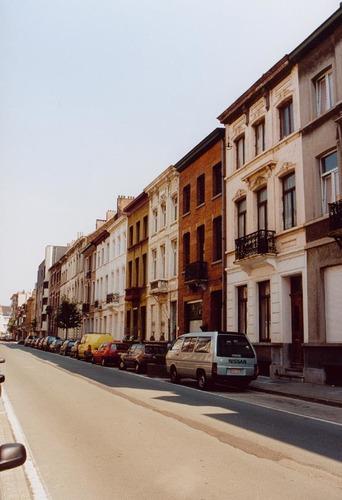 Xavier Buissetstraat straatbeeld