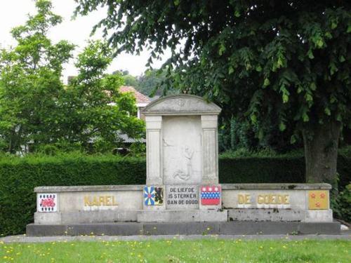 Zedelgem Kapellestraat zonder nummer Monument Karel de Goede