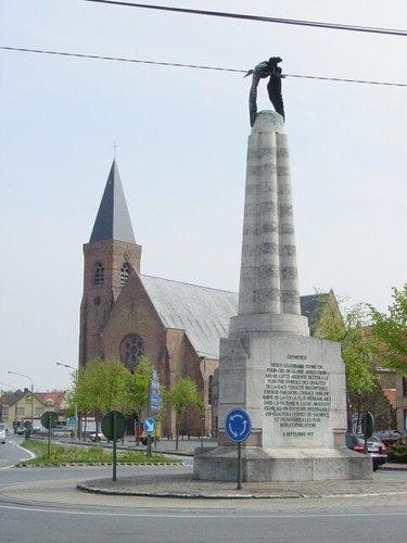Poelkapelle: Guynemer: Kerk