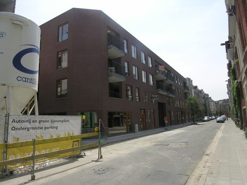 Antwerpen Sint-Laureisstraat Straatbeeld