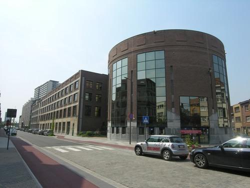 Antwerpen Brusselstraat 45/pleintje