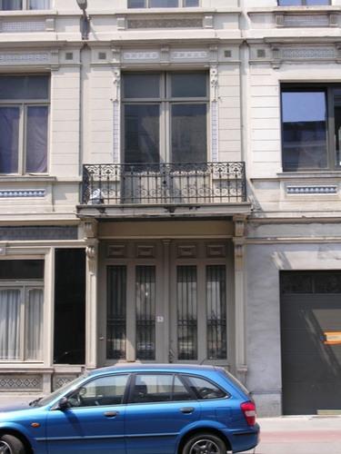 Antwerpen Montignystraat 36-38