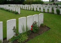 Britse militaire begraafplaats Saint Julien Dressing Station Cemetery