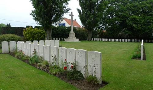 Saint Julien Dressing Station Cemetery