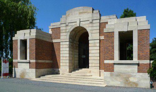 Britse militaire begraafplaats Lijssenthoek Military Cemetery
