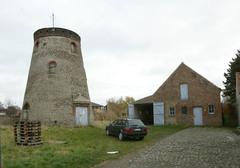 Site van de windmolen Groenhagemolen
